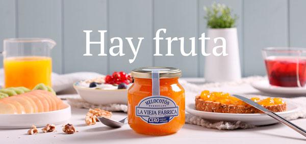 mermelada cero azúcar refinado melocotón de La Vieja Fábrica