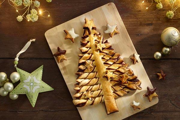 Árbol de Navidad: dos recetas dulces y una salada