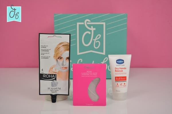 Los productos de belleza de DisfrutaBox Nomeolvides