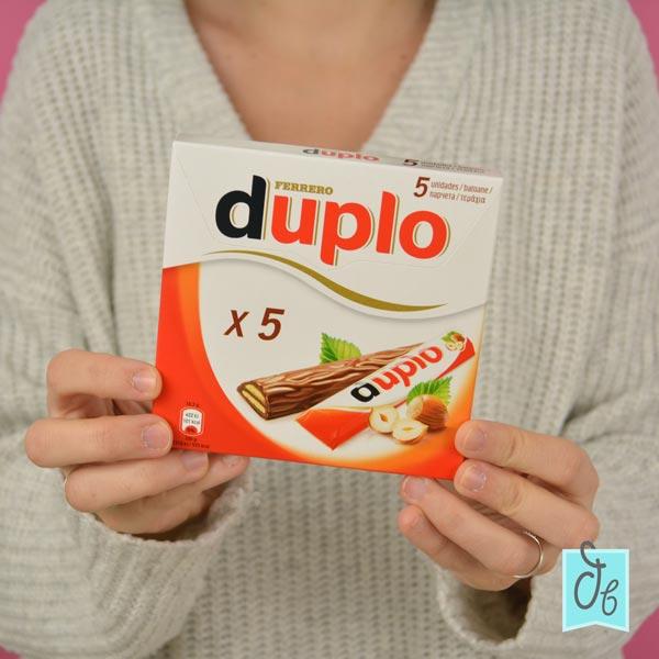 Ferrero Duplo el snack adulto