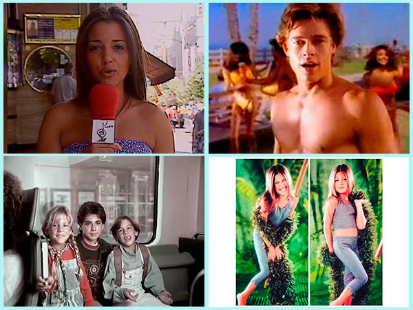 La primera vez de los famosos en cine o televisión