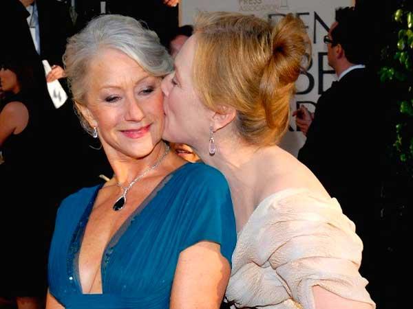 Helen Mirren y Meryl Streep son dos de las famosas con el pelo blanco