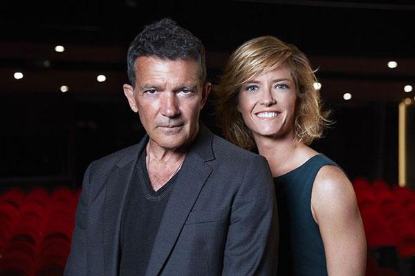 Antonio Banderas y Maria Casado Premios Goya 2021