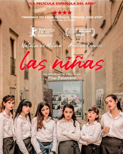 Las Niñas, de Pilar Palomero cartel