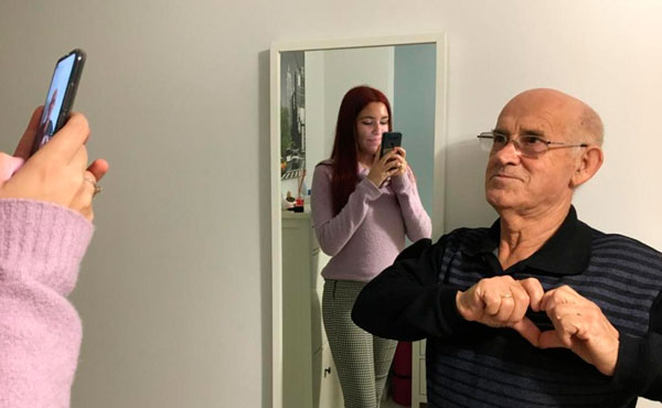 abuelo cele tik tok tercera edad