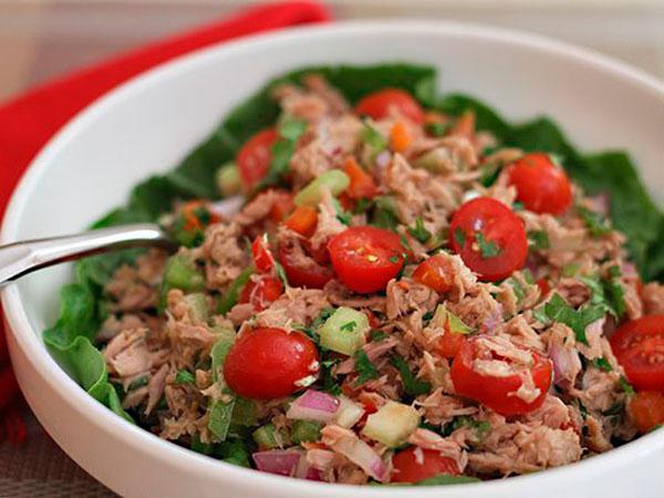 ensalada atún sencilla recetas con latas de atún