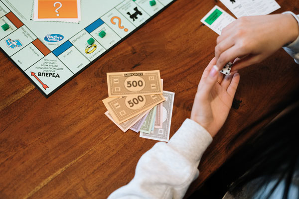 Juegos de mesa hobby interactivo