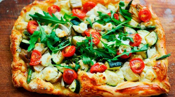pizzas saludables recetas