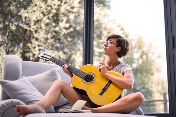 Tocar un instrumento lista de hobbies