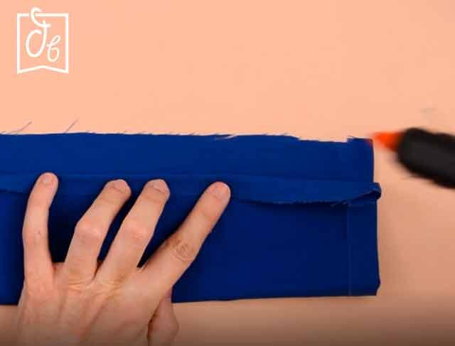 como hacer scrunchies sin coser