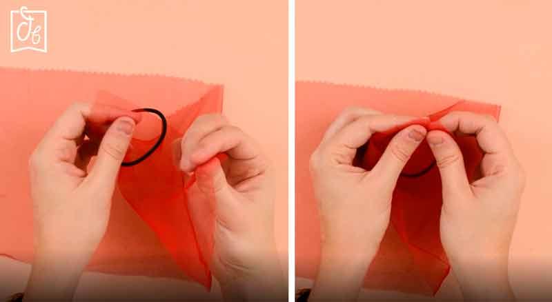 tutorial coletero de tela transparente