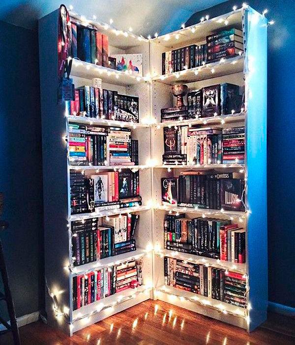 librerías trucos decoración hogar