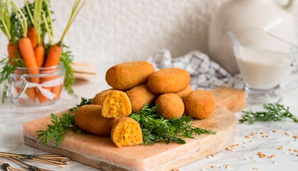 croquetas de zanahoria receta base vegana