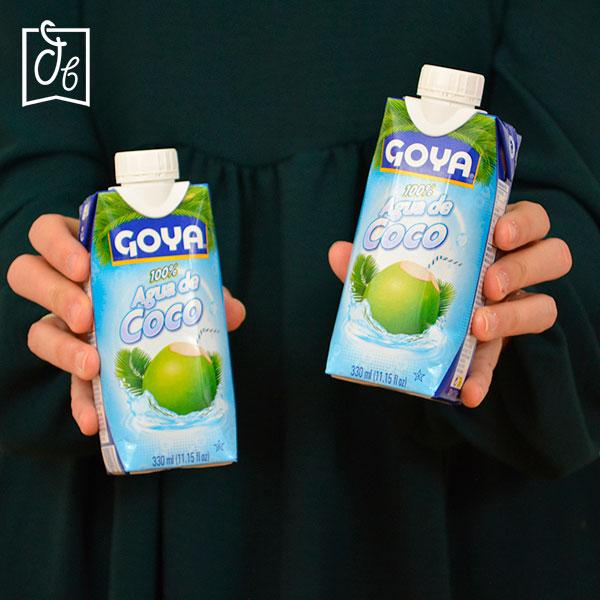 Agua de coco Goya en DisfrutaBox HOLI