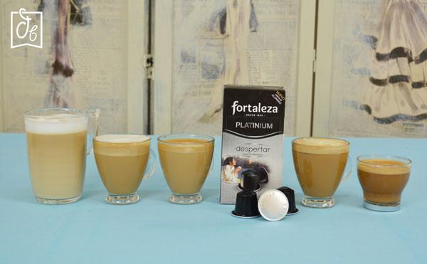 Café Fortaleza Cápsulas Aluminio Platinium Despertar en DisfrutaBox Despertares