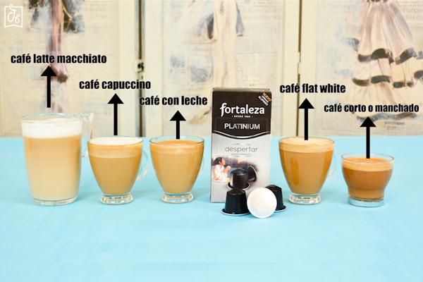 cómo hacer café flat white capuccino latte macchiato macchiato
