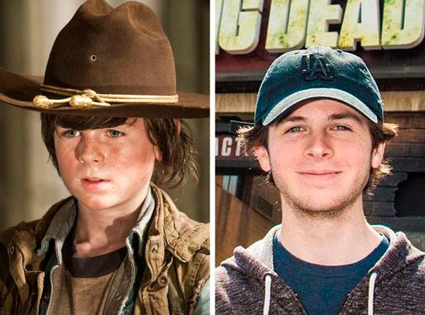 Chandler Riggs (Carl Grimes)