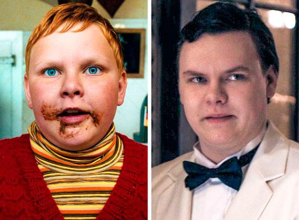 Philip Wiegratz (Augustus Gloop) niños y niñas actores de adultos