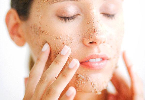 exfoliar la piel con mascarilla casera