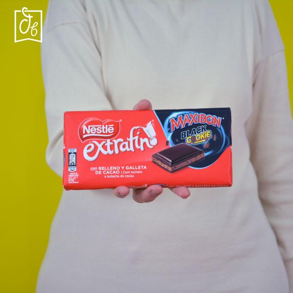 Nestlé extrafino Maxibon Black Cookie en DisfrutaBox