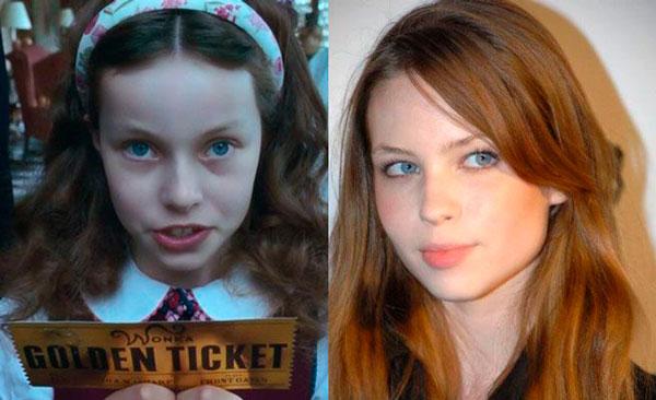Julia Winter (Veruca Salt)  niños y niñas actores de adultos