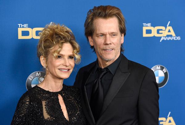 Kevin Bacon y Kyra Sedgwick famosos felizmente casados