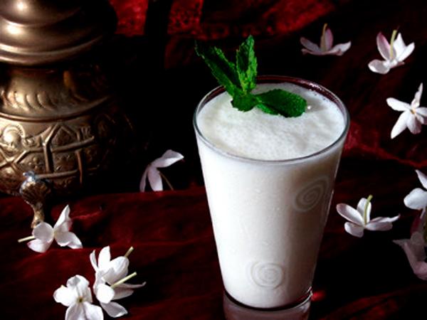 Lassi de yogurt Recetas típicas de la India