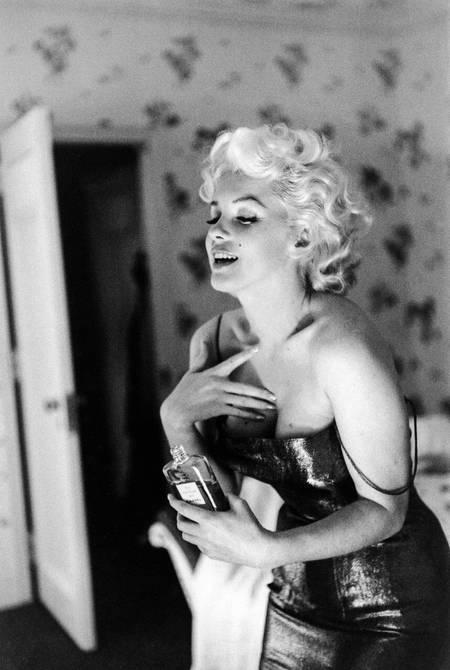 Marilyn Monroe y su perfume favorito Chanel nº 5