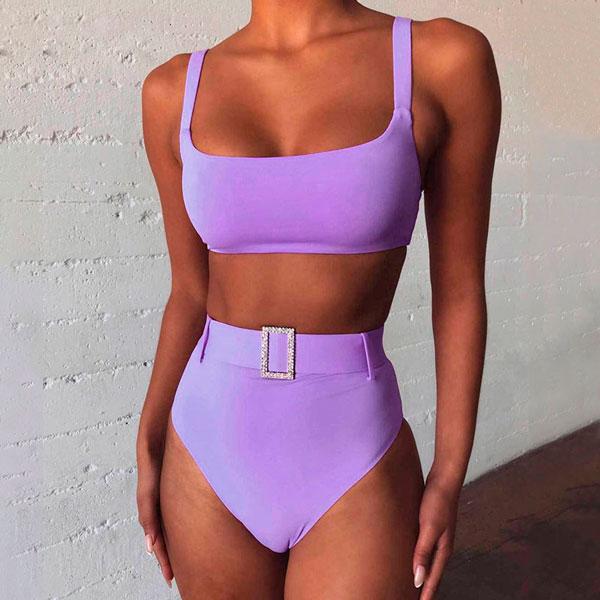Bikini con cinturón