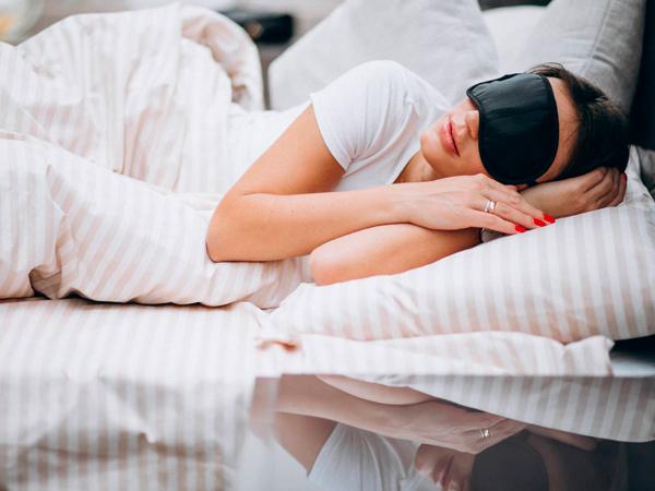 Mujer en un ambiente de descanso