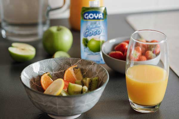 Recetas con agua de coco