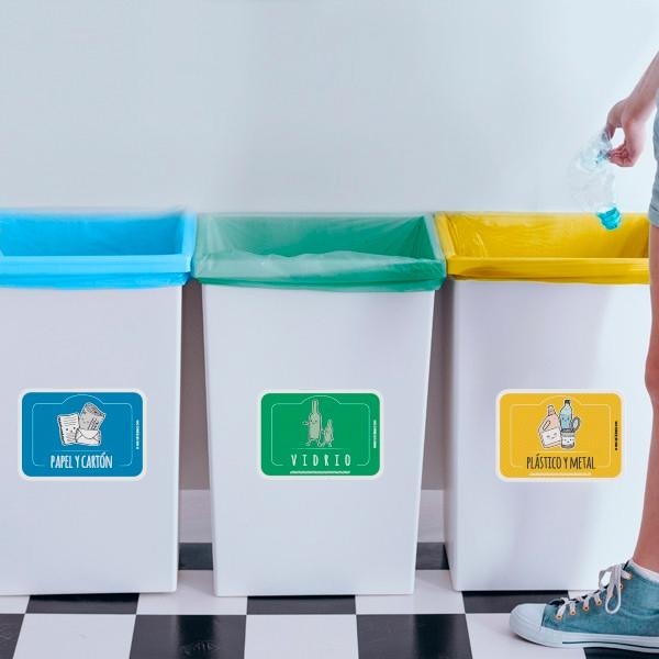 Contenedores para reciclar Cambios con los que reducirás residuos