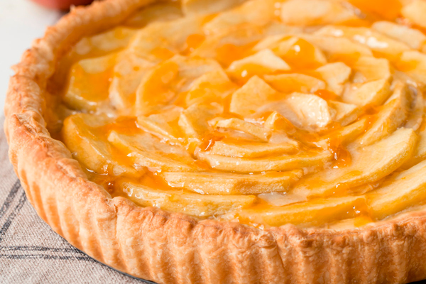 La receta vegana de tarta de manzana