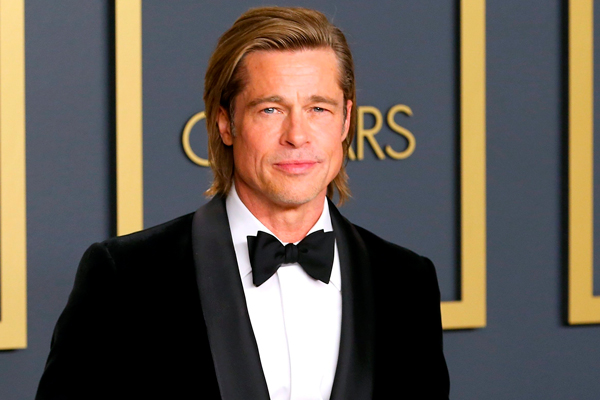 Brad Pitt famosos veganos