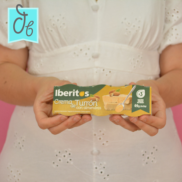 Crema de Turrón de Iberitos caja DisfrutaBox