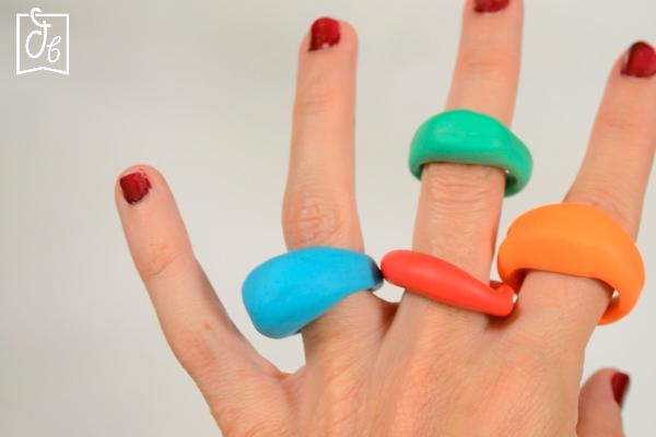 Ideas de anillos Pinterest de arcilla polimérica o Fimo que triunfan también en TikTok