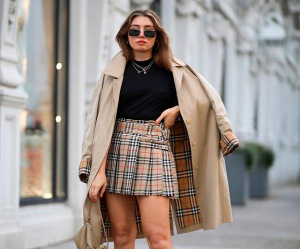 Falda de tablas Tendencias de moda