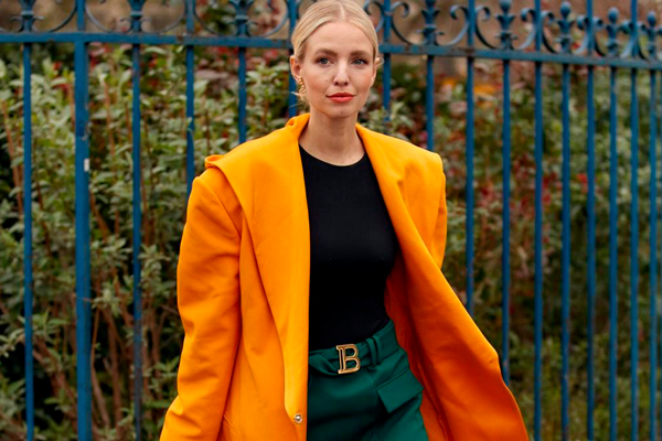 Color naranja Tendencias de moda