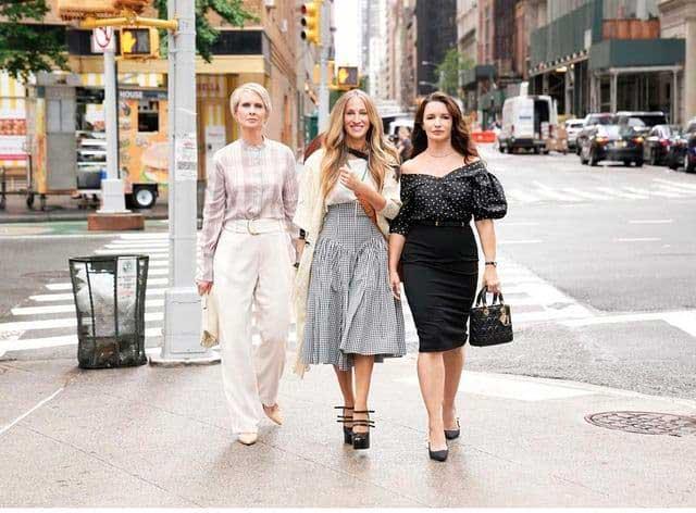 protagonistas Sexo en Nueva York secuela