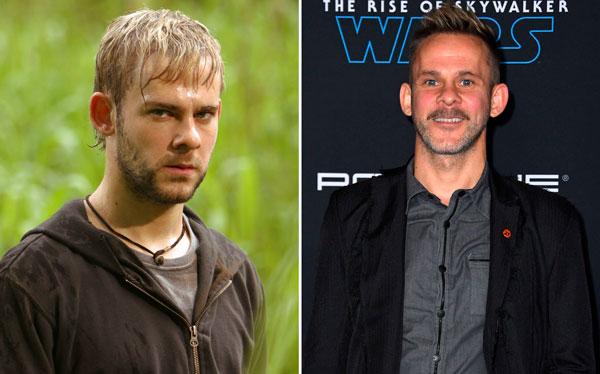 Dominic Monaghan antes y después de Perdidos