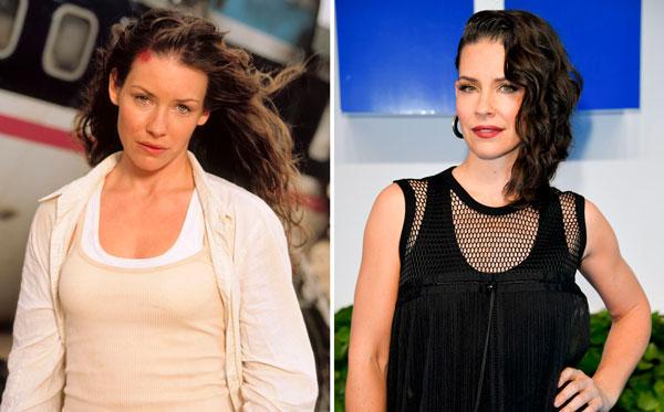 Evangeline Lilly Perdidos el antes y el después