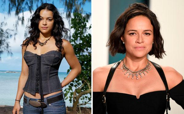 Michelle Rodriguez Protagonistas de la serie Perdidos