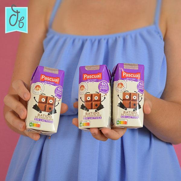 Batido chocolate sin lactosa Pascual