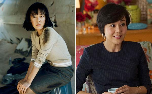 Yunjin Kim Protagonistas de la serie Perdidos