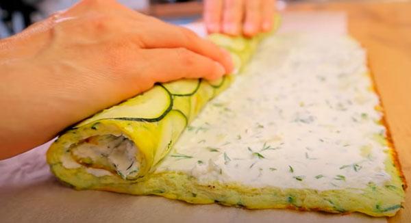 Tortilla de calabacín rellena: dejarás de freír el calabacín con esta receta