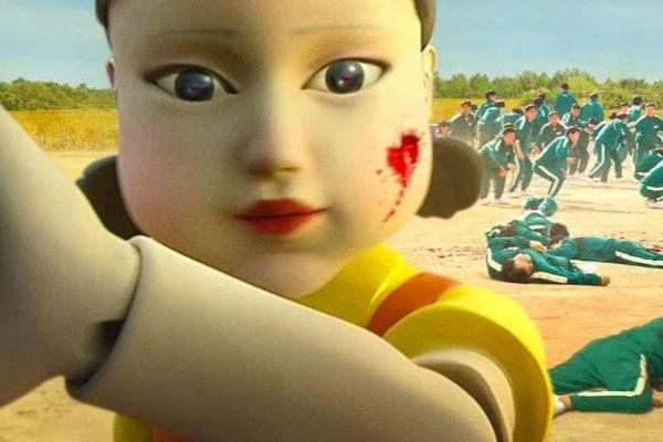 Foto muñeca el juego del calamar